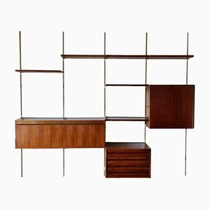 Mid-Century Italian Wall Unit by Osvaldo Borsani for Tecno