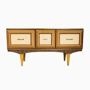 Aparador Mid-Century con mueble bar de Stonehill, años 60