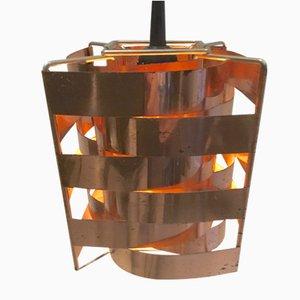 Mars Lampe aus Kupfer von Max Sauze, 1960er