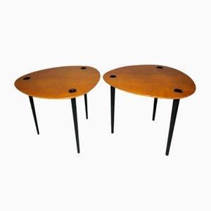Tavolini da caffè Partroy di Pierre Cruège per Formes, anni '50