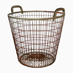 Mid-Century Metal Mesh Basket from BÖCO