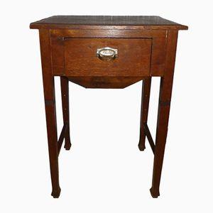 Vintage German High-Legged Sewing Table, 1920s