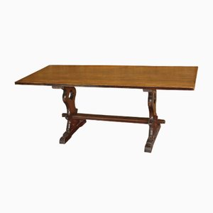 Vintage Oak Refectory Table, 1920s