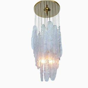 Großer Vintage Kronleuchter aus Muranoglas