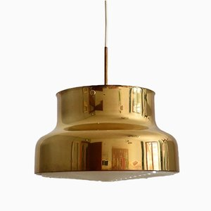 Vintage Swedish Pendant Ceiling Lamp 'Bumling' by Anders Pehrson for Atelje Lyktan, 1970s