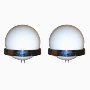 Vintage Wall Lights by MBM for Polinax, 1960s, Set of 2