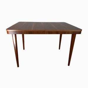 Czech Extendable Walnut Table from Cesky Nabytek, 1960s