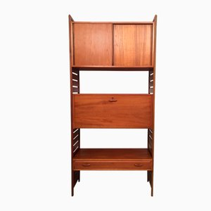 Modular Ladderax Shelving Unit by Robert Heal for Staples Cricklewood, 1960s