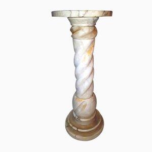 Columna o mesa consola Mid-Century de mármol