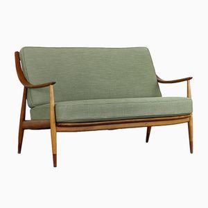 FD-144 Sofa von Peter Hvidt & Orla Mølgaard-Nielsen für France & Daverkosen, 1950er