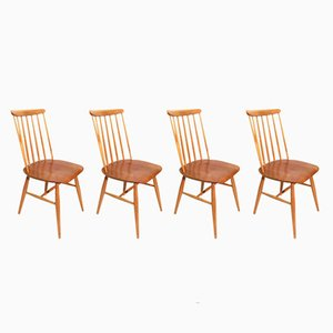 Swedish Teak Chairs, 1960s, Set of 4