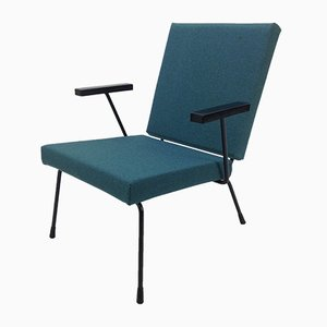 Niederländischer Vintage Modell 1407 Sessel von Wim Rietveld für Gispen, 1950er