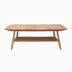 Table Basse avec Support Échelle Mid-Century par Lucian Ercolani pour Ercol, Grande-Bretagne, 1960s