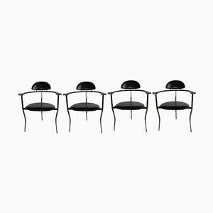 Chaises d'Appoint Stiletto Mid-Century de Arrben, Italie, 1960s, Set de 4