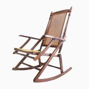 Vintage Folding Rocking Chair, 1950s