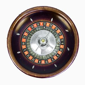 Antique Roulette Game