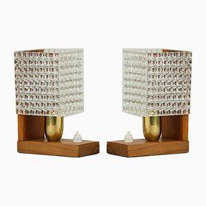 Lampade da tavolo di Austroluxe, anni '60, set di 2