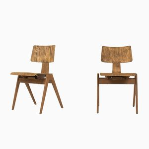 Hillestak Chairs by Robin & Lucienne Day for Hille, 1950s, Set of 2
