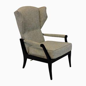 Mid-Century Italian Reclining Armchairs, Set of 2