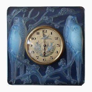 Horloge Inséparables Art Déco par René Lalique