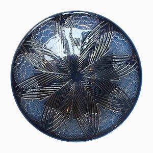 Assiette Oeillets Vintage par René Lalique