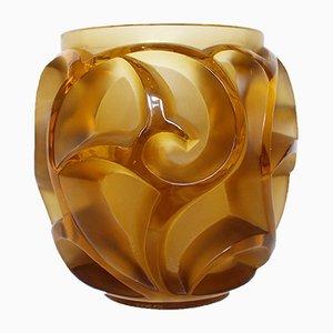 Vintage Tourbillons Vase von René Lalique
