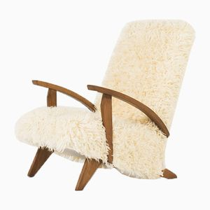 Furry Armchair, 1950s