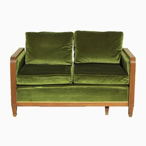 Art Deco Sofa oder Tagesbett, 1940er
