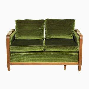 Sofá o sofá cama Art Déco, años 40
