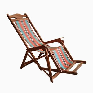 Art Deco Deck Chair, 1920s