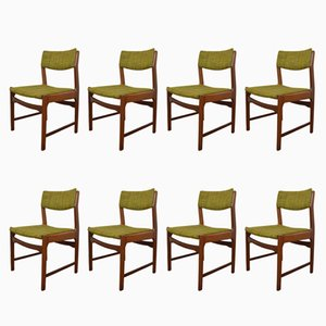 Mid-Century Danish Teak Dining Chairs, 1960s, Set of 8