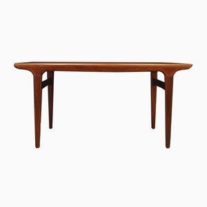 Table de Salle à Manger Mid-Century Extensible en Teck par Johannes Andersen pour Uldum Møbelfabrik, Danemark