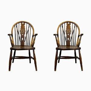 Chaises Windsor Vintage, Set de 2
