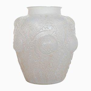 Vintage Domremy Vase von René Lalique