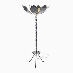Lámpara de pie moderna de Jacques Vidal, 1967