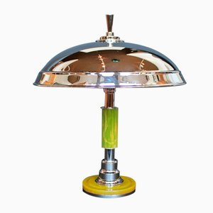 Art Deco Dome Lamp, 1930s