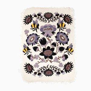 Bombroo Teppich mit violettem Muster von Klaus Haapaniemi für Tikau
