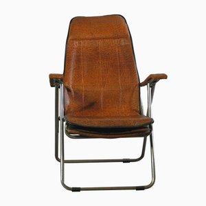 Silla reclinable y plegable, años 70