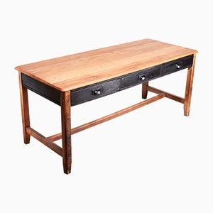 Beech Laboratory Dining Table from CE, 1950s