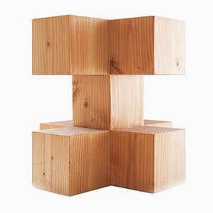 Oregon Pine Plus Stool by Fundamental.berlin
