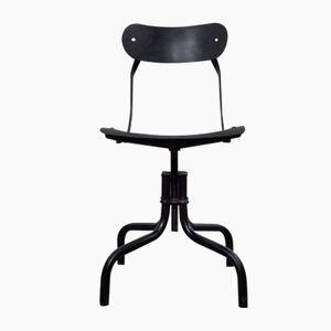 Black Desk Chair from Tan-Sad, 1940s
