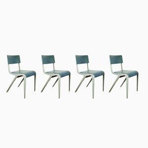 Chaises de Salon ou Chaises d'Appoint par James Leonard pour Esavian ESA, 1950s, Set de 4