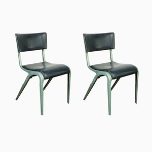 Dining or Side Chairs by James Leonard for ESA, 1950s, Set of 2