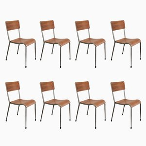 Vintage Teak Dining Chairs from Dare-Inglis, Set of 8