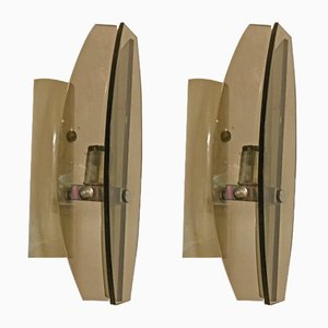 Mid-Century Italian Sconces from Veca, Set of 2