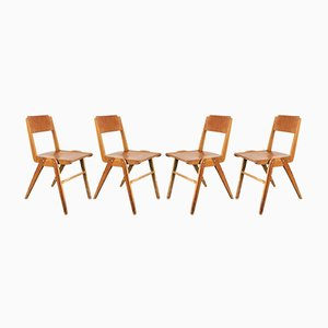 Vintage Dining Chairs from Casala, 1950s, Set of 4