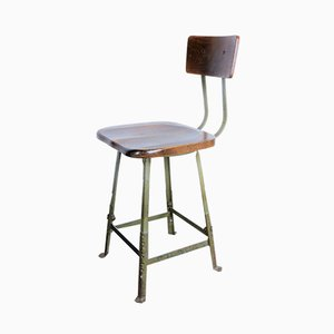American Industrial High Work Stool from Veeco, 1930s