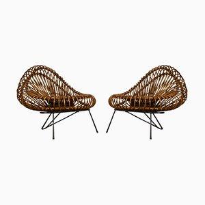 Vintage Stühle von Janine Abraham & Dirk Jan Rol für Rougier, 1960er, 2er Set