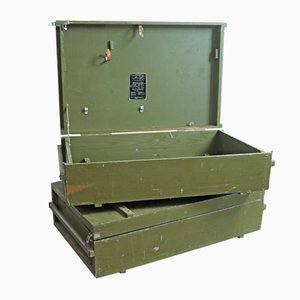 Russian Industrial Military Box or Low Occasional Table, 1960s