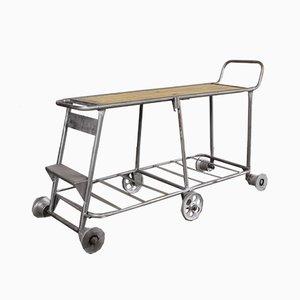 Industrieller Rollwagen aus einer Kindertagesstätte, 1960er